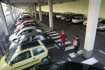 Annonay - Parking Valette